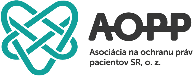 Liga proti reumatizmu na Slovensku je členom AOPP (logo AOPP)